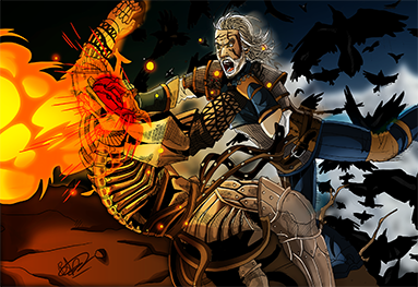 Geralt vs Imlerith SML
